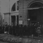 Fila al mercato, 1944, Bologna (Archivio ANPI Bologna)