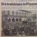 Trebbiatura in piazza