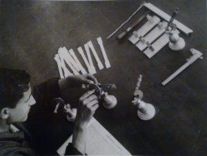1940. Stabilimento Leghe leggere, controllo di materiali.