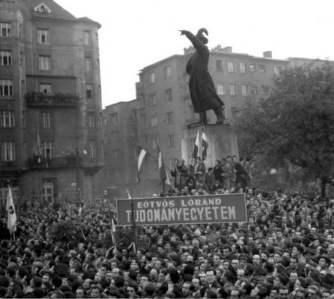 A Bem-téri tüntetés
