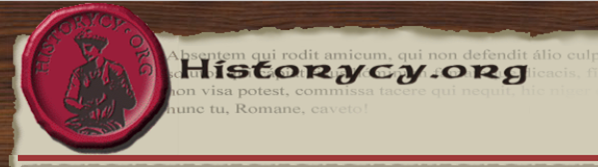 "Fig. 2. Logo of the forum ""historians"" (""historycy"")."