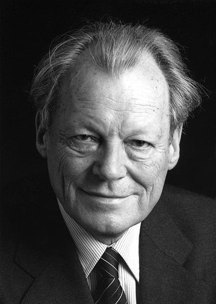 Photo 1. The most commonly used photo of Willy Brandt