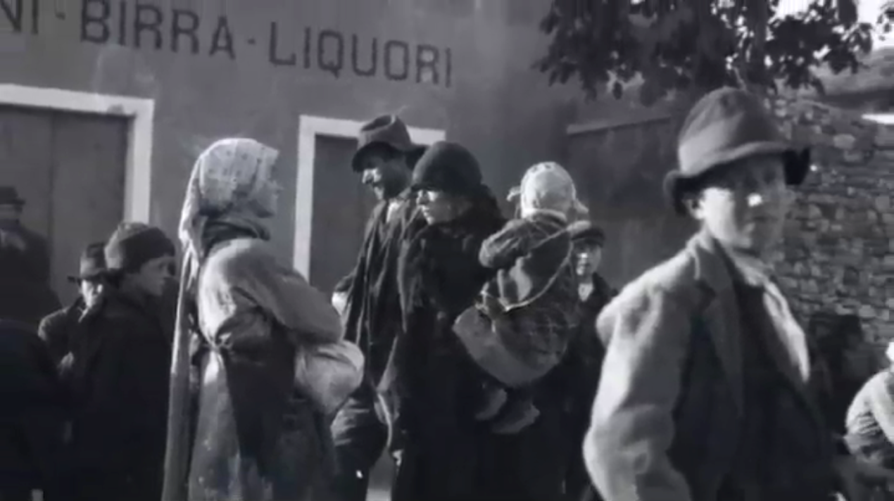 Civilians: the forgotten of any war. 400,000 Italians fled from Venetia to escape the Austrian occupation that was